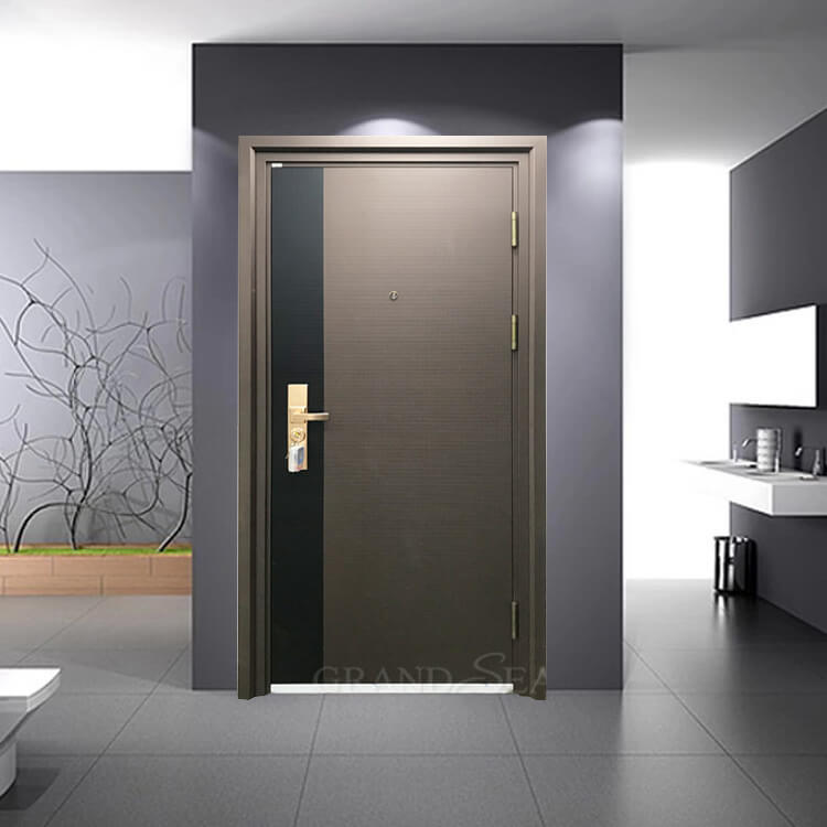 exterior fancy steel door