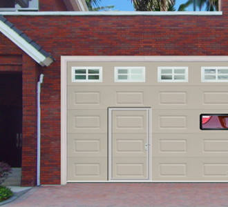 aluminum glass garage door