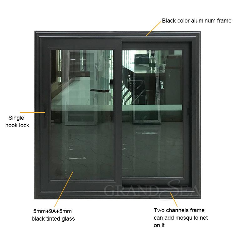 أفضل فيلا شرفة الخارجي أسود الألومنيوم الإطار انزلاق زجاج النافذة 4x4 الصين فيلا شرفة الخارجي أسود الألومنيوم الإطار انزلاق زجاج النافذة 4x4 الموردين Cngrandsea Com