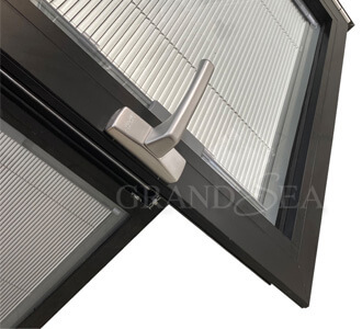 thermal break aluminum tilt turn window