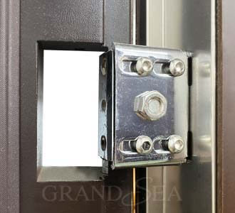 steel security armored door