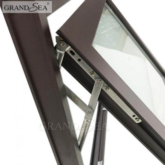 aluminum framed awning window