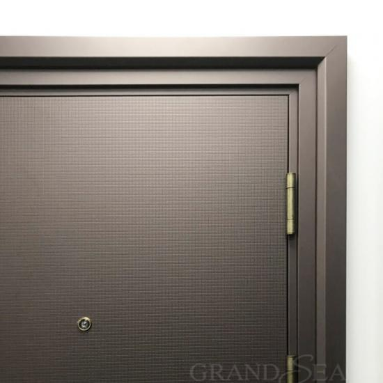 single steel security doors