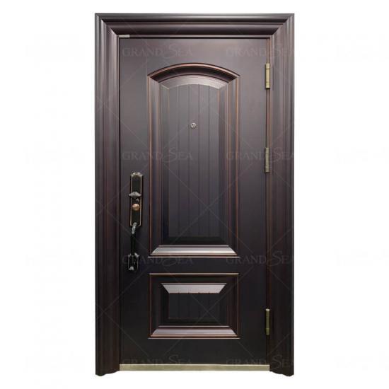 أفضل عالية الأمان Prehung معزول 36x80 أبواب معدنية سوداء من الصلب الصين عالية الأمان Prehung معزول 36x80 أبواب معدنية سوداء من الصلب الموردين Cngrandsea Com